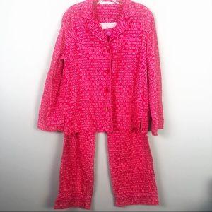Victoria's Secret | Logo Flannel Pajamas